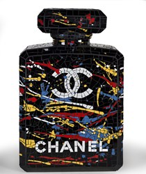 A Splash of Chanel by David Arnott - Original Mosaic sized 15x24 inches. Available from Whitewall Galleries
